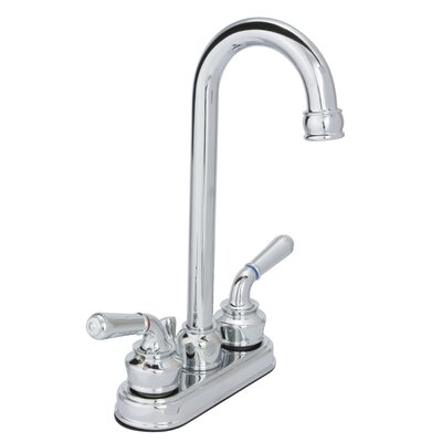 Sienna Double Handle Bar Faucet Finish: Chrome