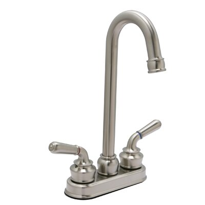 Sienna Double Handle Bar Faucet Finish: Satin Nickel