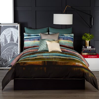 Lille 3 Piece Duvet Set Size: Full/Queen