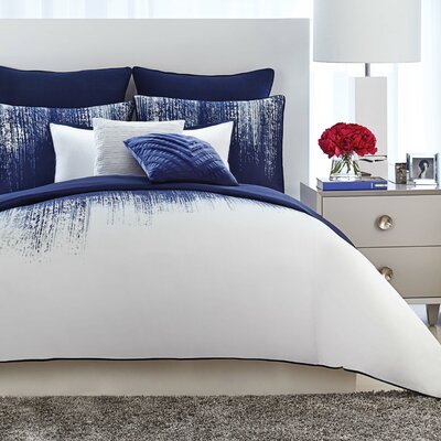 Lyon 3 Piece Duvet Set Size: King