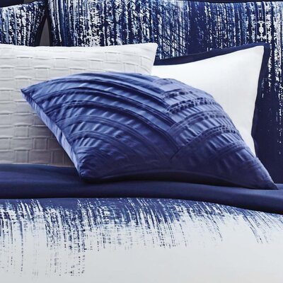 Lyon Signature V Pleated Throw Pillow