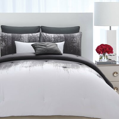 Lyon Cotton 3 Piece Duvet Set Size: Full/Queen