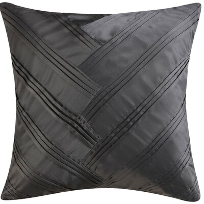 Lyon Square Signature Pleated Throw Pillow