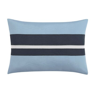 Capri Blush Lumber Pillow Color: Dark Blue