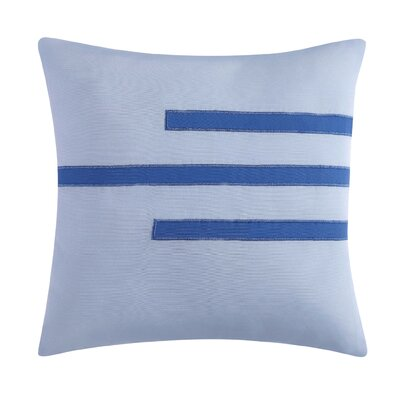 Nantucket Throw Pillow Color: Blue