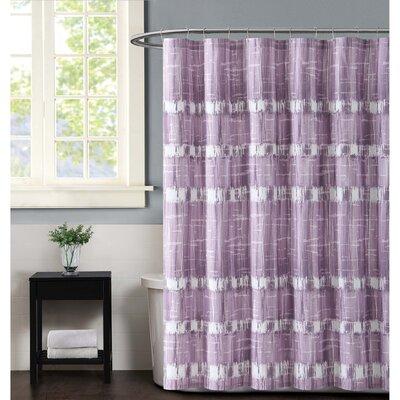 Nantucket Shower Curtain Color: Plum