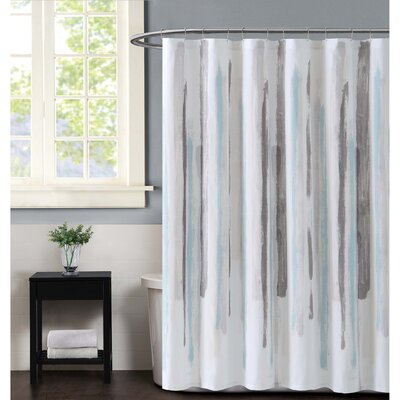 Sorrento Shower Curtain Color: Aqua
