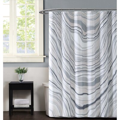 Valero Shower Curtain Color: Neutral