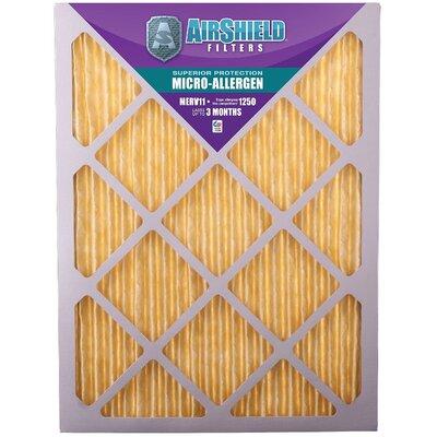 MERV 11 Micro Allergen Air Filter Size: 20
