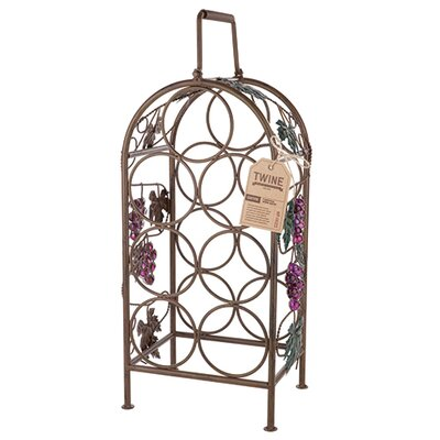 Grapevine 7 Bottle Tabletop Wine Rack