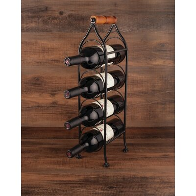 Boulevard 4 Bottle Tabletop Wine Rack