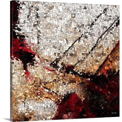 'John 10:10, VerseVisions' by Mark Lawrence Painting Print on Canvas Size: 16