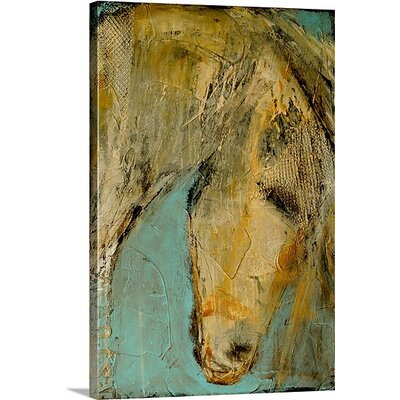 'She's A Beauty' by Erin Ashley Painting Print on Canvas Size: 36
