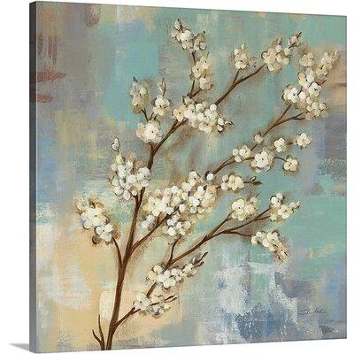 'Kyoto Blossoms I' by Silvia Vassileva Painting Print on Canvas Size: 24