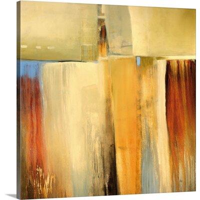 'Rustic Arrangement' by Lisa Ridgers Painting Print on Canvas Size: 20