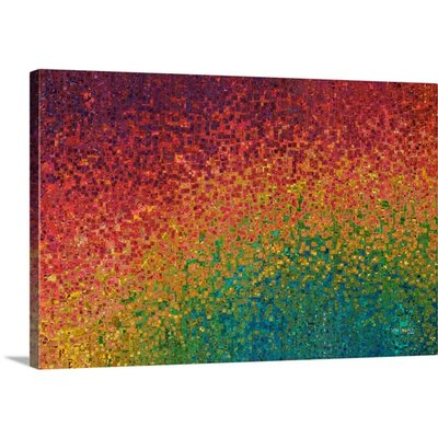 """'Meditate On These Things. Philippians 4:8' by Mark Lawrence Painting Print on Canvas Size: 16"""" H x 24"""" W x 1.25"""" D"""