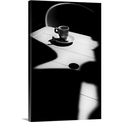 """Coffee Time by Olavo Azevedo Photographic Print on Canvas Size: 24"""" H x 16"""" W 2351703_24_16x24_none"""