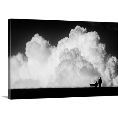 Waiting for the Storm by Stefan Eisele Photographic Print on Canvas 2350722_24_24x16_none
