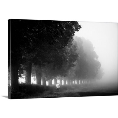 Morning Walk by Heiko Gerlicher Photographic Print on Canvas Size: 20