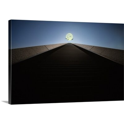 The Stairs to the Moon by Akira Takaue Photographic Print on Canvas Size: 16