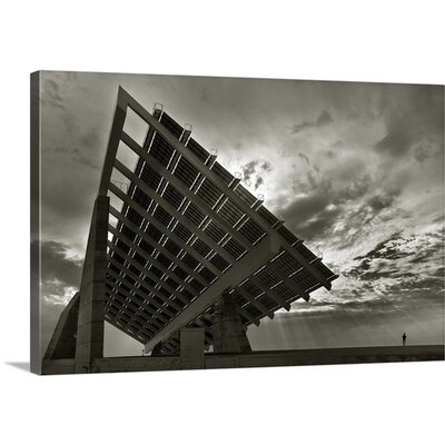 Solar Panel by Xavi Cardell Photographic Print on Canvas Size: 32