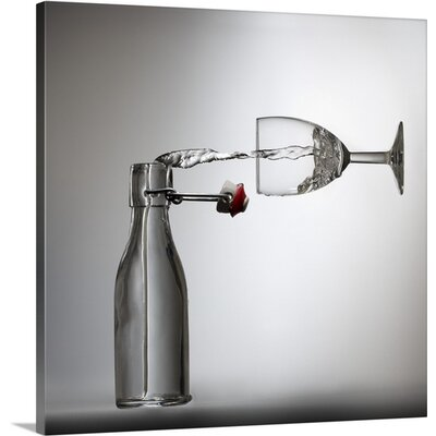 Pouring? by Wieteke De Kogel Photographic Print on Canvas Size: 24
