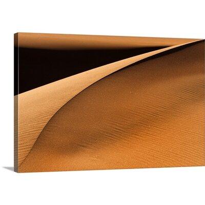 "Golden Dunes by Jure Kravanja  Photographic Print on Canvas Size: 16"" H x 24"" W x 1.25"" D 2356675_24_24x16_none"