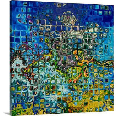 'Modern Tile Art #8, 2008' by Mark Lawrence Graphic Art on Canvas Size: 30