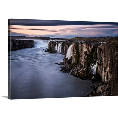 Waterfalls by Sus Bogaerts Photographic Print on Canvas Size: 16