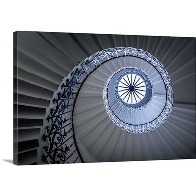 Staircase by Sus Bogaerts Photographic Print on Canvas Size: 20