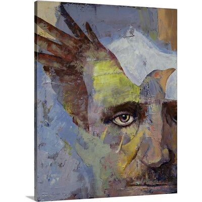 Edgar Allan Poe by Michael Creese Memorabilia on Canvas 1985071_24_16x20_none