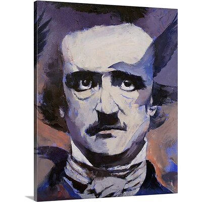 Portrait of Edgar Allan Poe by Michael Creese Memorabilia on Canvas MC0130105_24_16x20_none