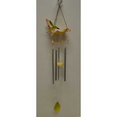 Image of Hummingbird Water Fountain Poly Wind Chime
