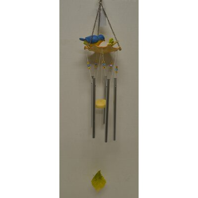 Image of Bird Water Fountain Poly Wind Chime