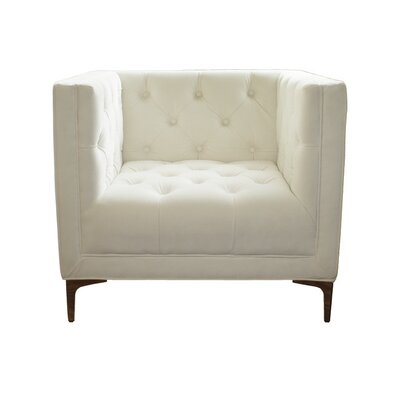 Inspirations Anna  Armchair Upholstery: Ivory