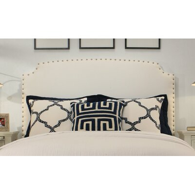 Ardenvor Upholstered Panel Headboard Size: Easten King/Cal King, Upholstery: White