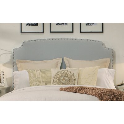 Ardenvor Upholstered Panel Headboard Size: Queen/Full, Upholstery: Dusty Aqua
