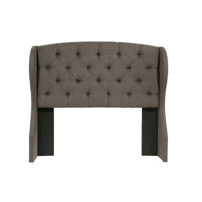 Peyton Upholstered Wingback Headboard Size: Eastern King/California King