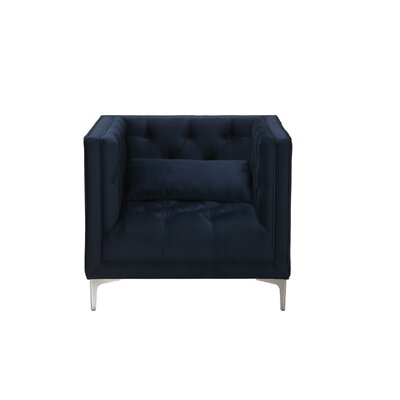 Inspirations Anna  Armchair Upholstery: Ink