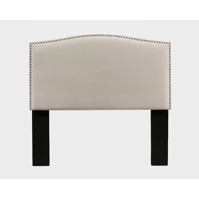 Altamirano Upholstered Panel Headboard Size: Full/Queen, Color: Ivory