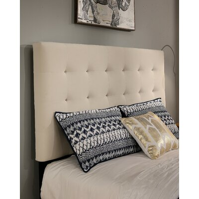 Almendarez Upholstered Panel Headboard and Bench Size: King/California King