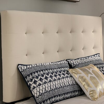 Manhattan Upholstered Panel Headboard Size: Queen/Full