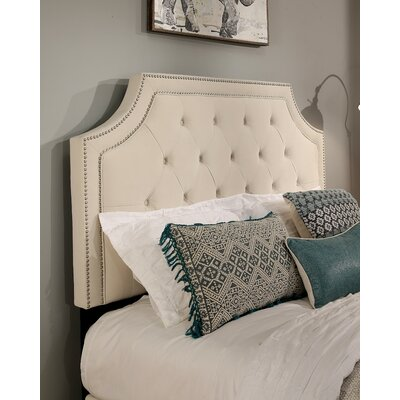 Audrey Upholstered Panel Headboard Size: King/California King