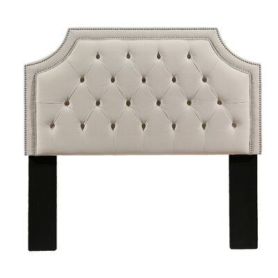 Devitt Upholstered Panel Headboard Size: King/California King