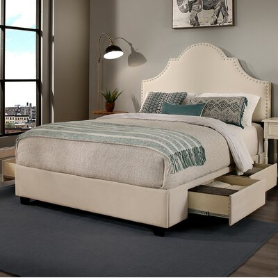 Portman Platform Storage Bed Size: Califonia King