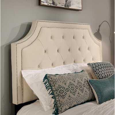 Audrey Upholstered Panel Headboard Size: Queen/Full