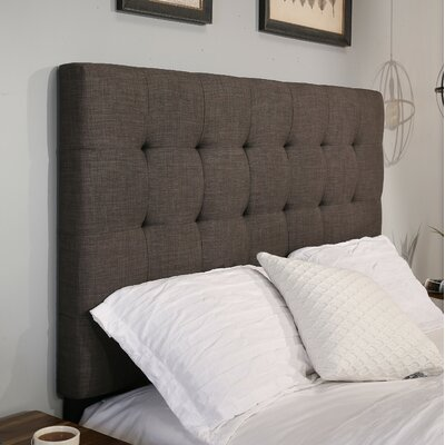 Manhattan Upholstered Panel Headboard Size: King/California King