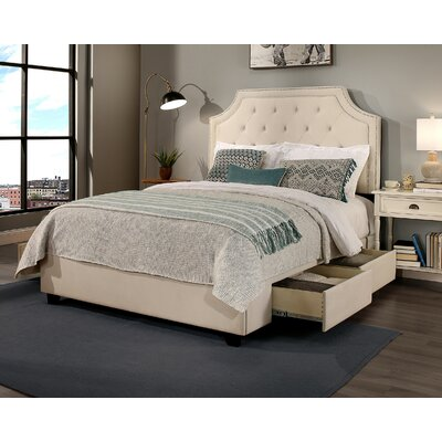 Audrey Storage Platform Bed Size: California King