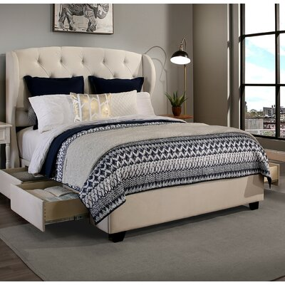 Archer Storage Platform Bed Size: California King