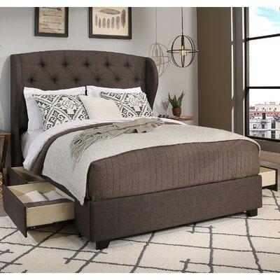 Archer Storage Platform Bed Size: California King